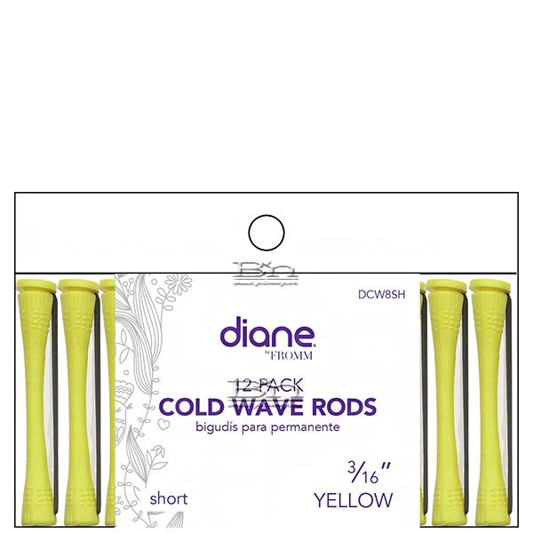 Diane #DCW8SH Cold Wave Rods - 3/16