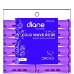 """Diane #DCW3SH Cold Wave Rods - 9/16"""" Short Orchid"""