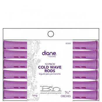 "Diane #DCW3 Cold Wave Rods - 9/16"" Long Orchid"