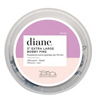 Diane #D417 Large Curved Bobby Pins 80 Count Bin - 2 1/2