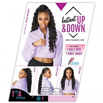 Sensationnel Synthetic Half Wig Instant Up & Down - UD 9