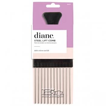 Diane #SE417 Steel Lift Comb - Black