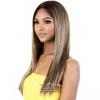 Motown Tress Synthetic Hair HD Spin Part Invisible Lace Wig - LDP CYRUS