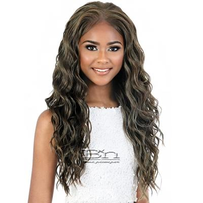 Motown Tress Synthetic Hair HD Invisible 13X7 Lace Wig - LS137 FOX