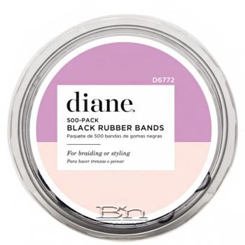 Diane #D6770 Rubber Bands - 250 Pack Black