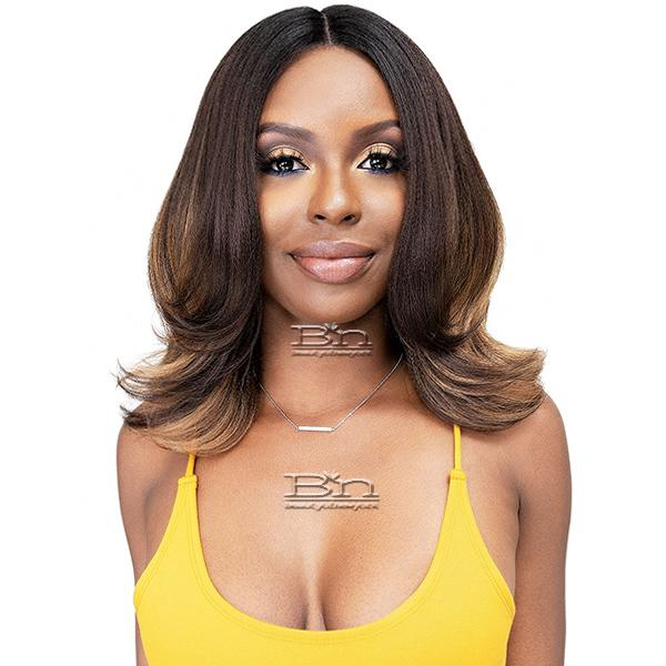 Janet Collection Natural Me Lite Blowout Synthetic Hair HD Lace Wig - ULLA