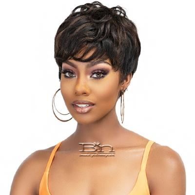 Janet Collection Lavish 100% Virgin Human Hair Wig - MALIA