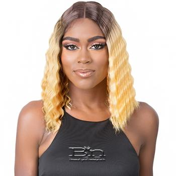 It's a Wig Synthetic Hair HD Lace Wig - HD LACE CRIMPED HAIR 2