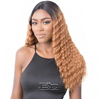 It's a Wig Synthetic Hair HD Lace Wig - HD LACE CRIMPED HAIR 3