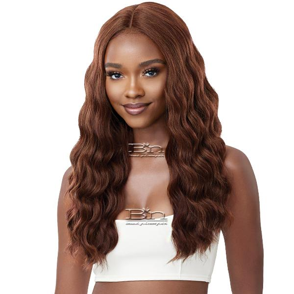 Outre Synthetic Swiss HD Lace Front Wig - KITANA