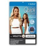 Outre Synthetic Half Wig Quick Weave - VIOLETTA