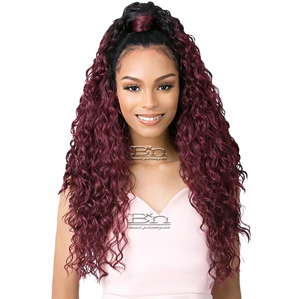 Goldntree Synthetic Half Wig and Pony Wrap - HIGH & LOW 3