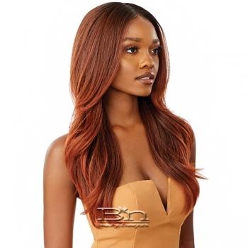 Outre Synthetic Melted Hairline Lace Front Wig - KAMIYAH