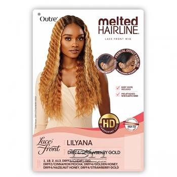 Outre Synthetic Melted Hairline Lace Front Wig - LILYANA