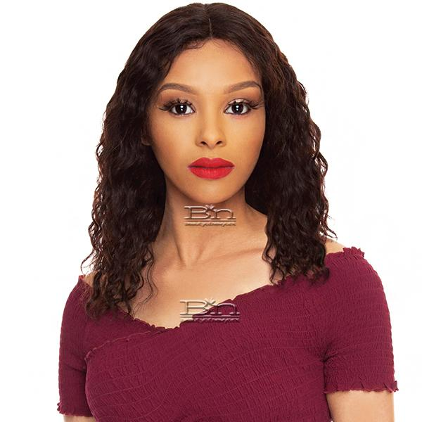 The Wig Black Pink 100% Brazilian Virgin Remy Hair HD Lace Front Wig - HBL WL 18