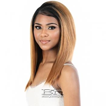 Motown Tress Synthetic Hair HD Invisible 13X7 Lace Wig - LS137.PINK