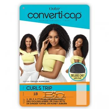 Outre Converti Cap Synthetic Hair Wig - CURLS TRIP
