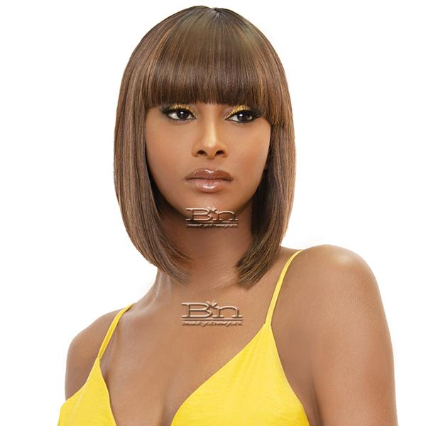 Awesome Good Hair Day Human Hair Blend Wig - MILLIE