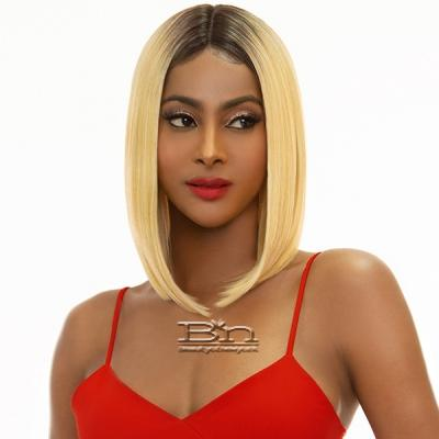 Awesome T Lace Human Hair Blend Lace Wig - TL DELLA
