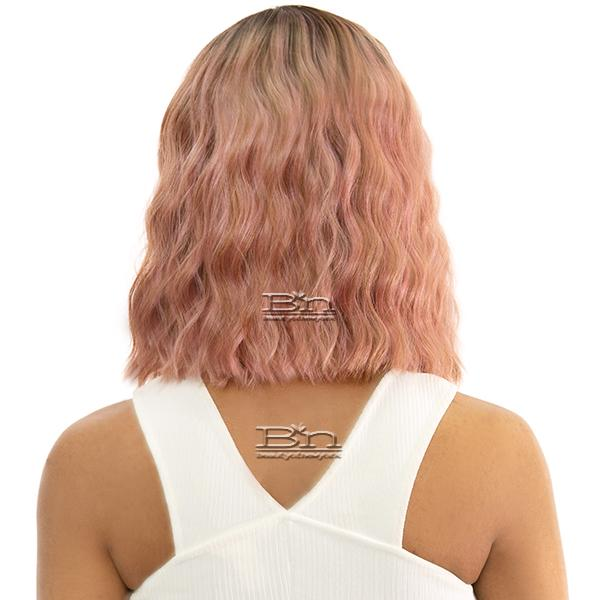 Awesome T Lace Human Hair Blend Lace Wig - TL JUNE
