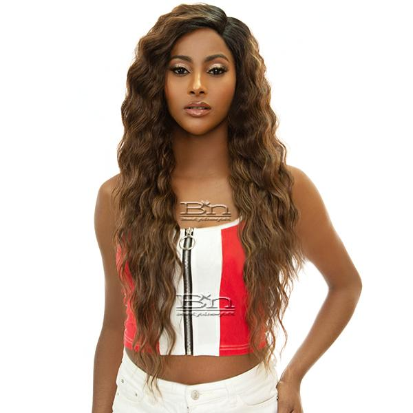 Awesome T Lace Human Hair Blend Lace Wig - HBTL MEADOW