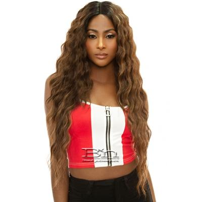 Awesome T Lace Human Hair Blend Lace Wig - TL MEADOW