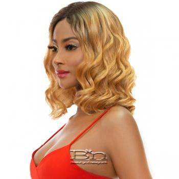 Awesome T Lace Human Hair Blend Lace Wig - TL TRINITY