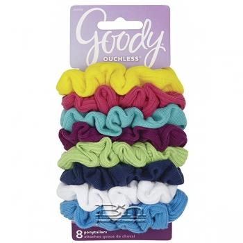 Goody #24856 Ouchless Jersey Hair Ponytailer 8 pcs