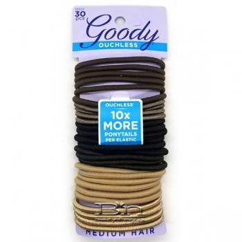 Goody #10927 Ouchless Starry Night No-Metal Hair Elastics 30pcs