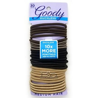 Goody #10927 Ouchless Starry Night No-Metal Hair Elastics 30 pcs