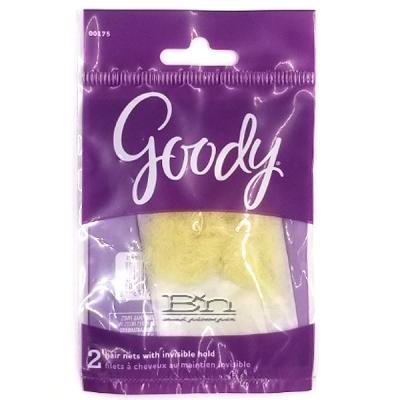 Goody #00175 Hair Nets with Invisible Hold 3 pcs