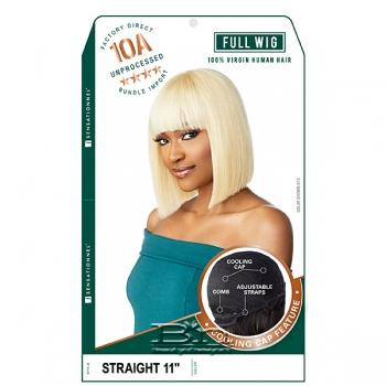 Sensationnel 100% Virgin Human Hair 10A Full Wig - STRAIGHT 11