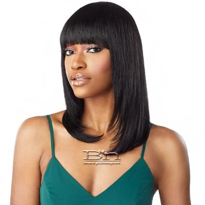 Sensationnel 100% Virgin Human Hair 10A Full Wig - STRAIGHT 18