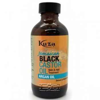Kuza Jamaican Black Castor Oil Skin & Hair Treatment 4oz - Argan Oil