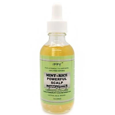 IPPY 100% Pure Natural Mint + Rice Powerful Scalp Nourisher 2oz