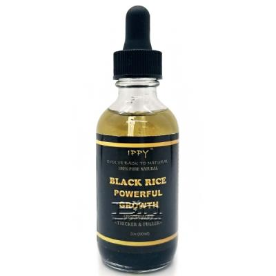 IPPY 100% Pure Natural Black Rice Powerful Growth 2oz
