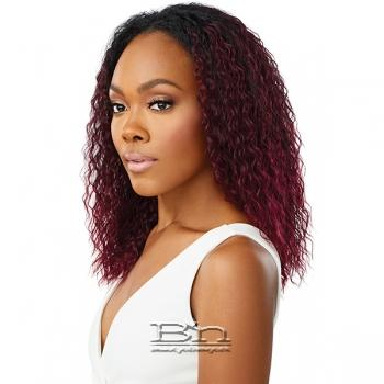 Outre Synthetic Wet & Wavy Style Half Wig Quick Weave - SPANISH CURL 16