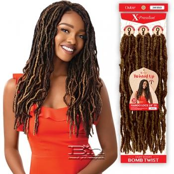 Outre Synthetic Braid - X PRESSION TWISTED UP 3X MANGO LOCS 18