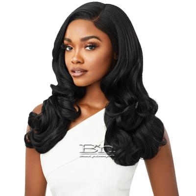 Outre Synthetic Melted Hairline HD Lace Front Wig - HARPER