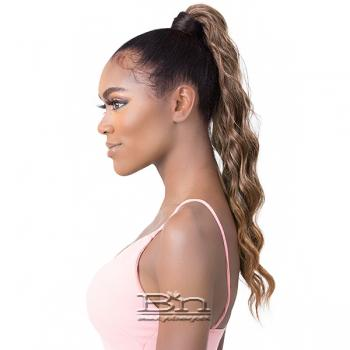 Goldntree Synthetic Half Wig and Pony Wrap - HIGH & LOW 5