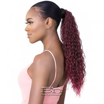 Goldntree Synthetic Half Wig and Pony Wrap - HIGH & LOW 6