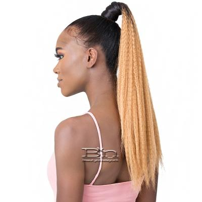Goldntree Synthetic Ponytail Wrap Pony - WRAP PONY CRIMPED CURL 22