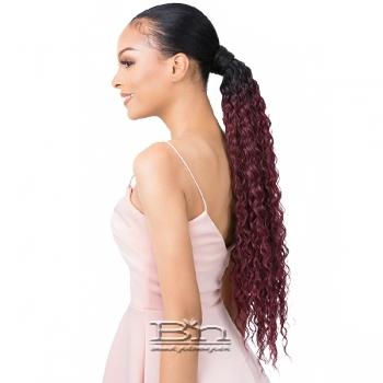 Goldntree Synthetic Ponytail Wrap Pony - WRAP PONY FRENCH WAVE 24