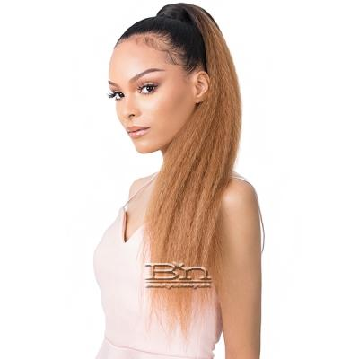 Goldntree Synthetic Ponytail Wrap Pony - WRAP PONY KINKY STRAIGHT 26