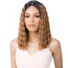 It's a Wig Synthetic Hair HD Lace Wig - HD LACE CRIMPED HAIR 1