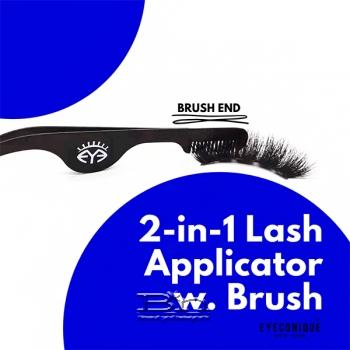 EYECONIQUE 2-In-1 Lash Applicator With Comb