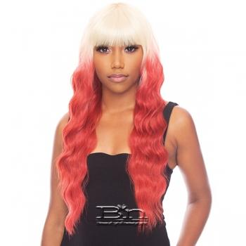 The Wig Brazilian Human Hair Blend Wig - HH LOOSE DEEP 24