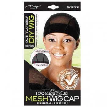 Magic Collection #DIY001 DIY Wig Dome Style Mesh Wig Cap - Black