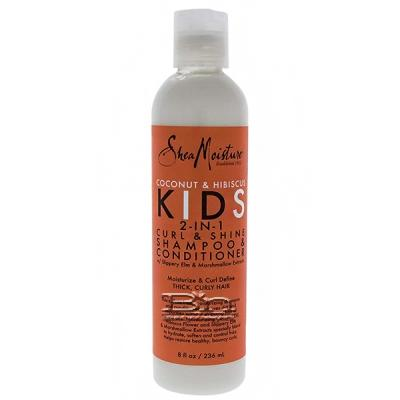 Shea Moisture Coconut & Hibiscus Kids 2-in-1 Curl & Shine Shampoo & Conditioner 8oz