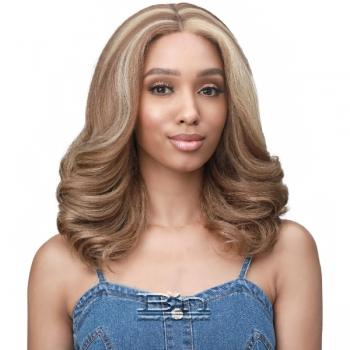 Bobbi Boss Synthetic Hair 3.5 inch Deep Part Lace Front Wig - MLF483 MELODY